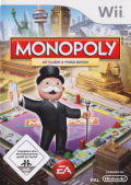 Monopoly featuring Classic & World Edition Boards Wii Front Cover