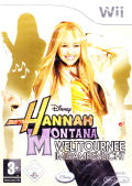 Hannah Montana: Spotlight World Tour Wii Front Cover