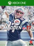 Madden NFL 17 Xbox One Front Cover 1st version