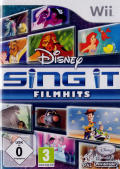 Disney Sing It: Family Hits Wii Front Cover