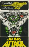 3D Bat Attack ZX Spectrum Front Cover