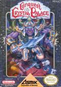 Conquest of the Crystal Palace NES Front Cover