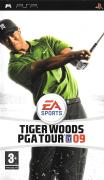 Tiger Woods PGA Tour 09 PSP Front Cover