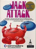 Jack Attack Commodore 64 Front Cover