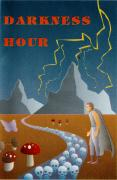 Darkness Hour Atari 8-bit Front Cover