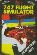 747 Flight Simulator ZX Spectrum Front Cover