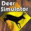 Deer Simulator PlayStation 4 Front Cover