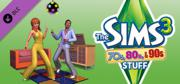 The Sims 3: 70's, 80's, & 90's Stuff Windows Front Cover