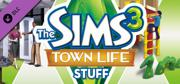 The Sims 3: Town Life Stuff Windows Front Cover