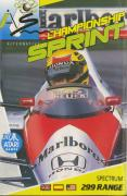 Championship Sprint ZX Spectrum Front Cover