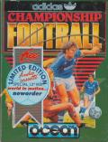 Adidas Championship Football ZX Spectrum Front Cover