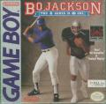 Bo Jackson: Two Games in One Game Boy Front Cover