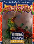 Alien Storm ZX Spectrum Front Cover