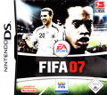 FIFA Soccer 07 Nintendo DS Front Cover