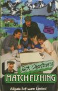 Jack Charlton's Match Fishing ZX Spectrum Front Cover