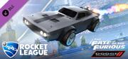 Rocket League: The Fate of the Furious Ice Charger Linux Front Cover