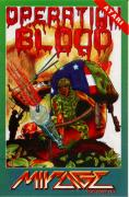 Operation Blood Atari 8-bit Front Cover