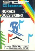 Horace Goes Skiing ZX Spectrum Front Cover