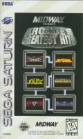 Williams Arcade Classics SEGA Saturn Front Cover