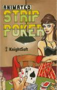 Animated Strip Poker ZX Spectrum Front Cover