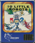 10 Little Robots DOS Front Cover