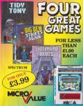 Four Great Games ZX Spectrum Front Cover