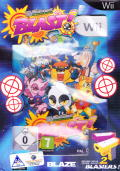 Wicked Monsters: BLAST! Wii Front Cover