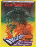 Yie Ar Kung-Fu 2: The Emperor Yie-Gah ZX Spectrum Front Cover