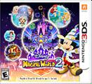 Disney Magical World 2 Nintendo 3DS Front Cover