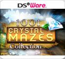 1001 Crystal Mazes Collection Nintendo DSi Front Cover
