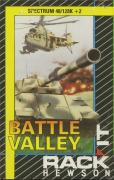 Battle Valley ZX Spectrum Front Cover