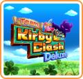 Team Kirby Clash Deluxe Nintendo 3DS Front Cover