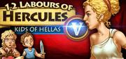 12 Labours of Hercules V: Kids of Hellas Linux Front Cover
