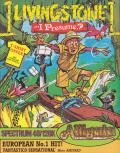 Livingstone, I Presume? ZX Spectrum Front Cover