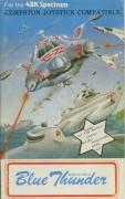 Blue Thunder ZX Spectrum Front Cover