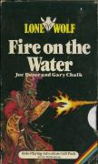 Lone Wolf: Fire on the Water ZX Spectrum Front Cover