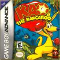 Kao the Kangaroo Game Boy Advance Front Cover