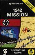 1942 Mission ZX Spectrum Front Cover
