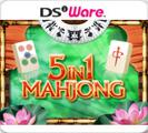 5 in 1 Mahjong Nintendo DSi Front Cover