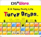 A Topsy Turvy Life: Turvy Drops Nintendo DSi Front Cover