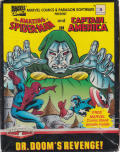 The Amazing Spider-Man and Captain America in Dr. Doom's Revenge! ZX Spectrum Front Cover