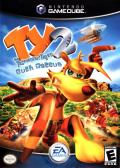 Ty the Tasmanian Tiger 2: Bush Rescue GameCube Front Cover
