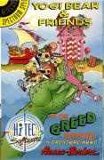 Yogi Bear & Friends in the Greed Monster: A Treasure Hunt ZX Spectrum Front Cover