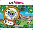 Animal Crossing Clock Nintendo DSi Front Cover