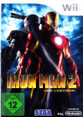 Iron Man 2 Wii Front Cover