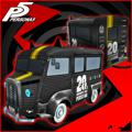 Persona 5: Persona 20th Anniversary Logo Morgana Car Sticker PlayStation 3 Front Cover