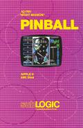Night Mission Pinball Apple II Front Cover