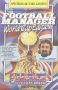 Football Manager: World Cup Edition 1990 ZX Spectrum Front Cover