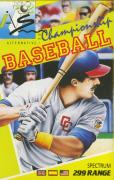 Championship Baseball ZX Spectrum Front Cover