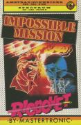 Impossible Mission Amstrad CPC Front Cover